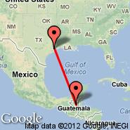 Houston (William P Hobby, HOU) - Flores (Santa Elena, FRS)