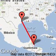Houston (William P Hobby, HOU) - Belize City (Municipal, TZA)