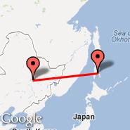 Harbin (Taiping International Airport, HRB) - Yuzhno Sakhalinsk (UUS)