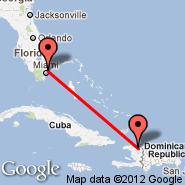 Hollywood (North Perry, HWO) - Cap-Haitien (Cap Haitien, CAP)