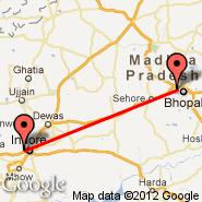 Indore (Devi Ahilyabai Holkar, IDR) - Bhopal (BHO)