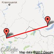 Irkutsk (IKT) - Ulaangom (ULO)