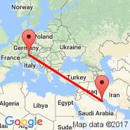 Innsbruck (Innsbruck-kranebitten, INN) - Kuwait (Kuwait International, KWI)