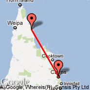Lockhart River (IRG) - Cairns (Cairns International Airport, CNS)