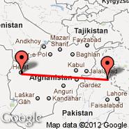 Islamabad (Islamabad International, ISB) - Herat (HEA)