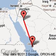 Jeddah (King Abdulaziz International, JED) - Tabuk (TUU)