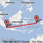 Jakarta (Soekarno-hatta Intl, JKT) - Wahai Maluku (Wahai, WBA)