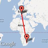 Johannesburg (Oliver Reginald Tambo International, JNB) - Mali Lošinj (Losinj Arpt, LSZ)