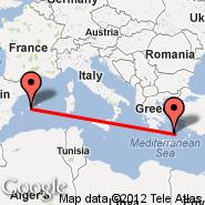 Santorini (JTR) - Mallorca (Son Sant Joan Airport, PMI)
