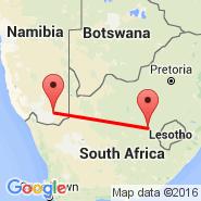 Karasburg (KAS) - Bloemfontein (J.B.M. Hertzog, BFN)