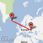 Reykjavik (Keflavik International, KEF) - Dnepropetrovsk (DNK)