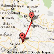 Nepalganj (KEP) - Lucknow (Amausi, LKO)