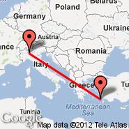 Kos (Kos Island International Airport, KGS) - Milan (Metropolitan Area, MIL)