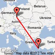 Kos (Kos Island International Airport, KGS) - Prag (Prague - Ruzyne International, PRG)