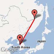 Khabarovsk (Novyy, KHV) - Seoul (Incheon International, ICN)