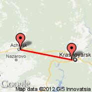 Krasnojarsk (KJA) - Achinsk (ACS)