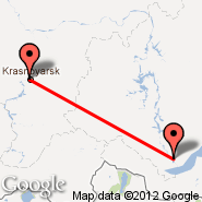 Krasnojarsk (KJA) - Irkutsk (IKT)