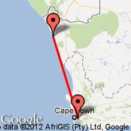 Kleinzee (KLZ) - Cape Town (Cape Town International, CPT)