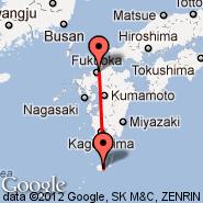 Yakushima (KUM) - Fukuoka (Itazuke AFB, FUK)