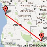 Luanda (4 de Fevereiro, LAD) - Livingstone (LVI)