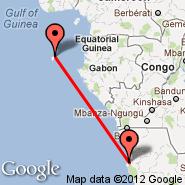 Luanda (4 de Fevereiro, LAD) - Sao Tome Island (Sao Tome Is, TMS)