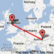 Leeds/Bradford (Leeds Bradford International Airport, LBA) - Dunaj (Schwechat International, VIE)