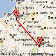 Lahr (Black Forest, LHA) - Bruselj (Brussels Airport, BRU)
