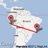 Lima (Jorge Chavez International, LIM) - Buzios (Umberto Modiano, BZC)