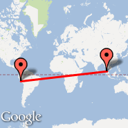 Lima (Jorge Chavez International, LIM) - Phi Phi Island (PHZ)