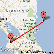 Liberia (Daniel Oduber International, LIR) - Corn Island (RNI)