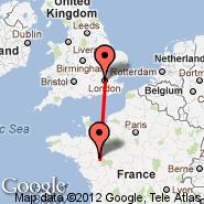 London (Metropolitan Area, LON) - Angers (Marce, ANE)