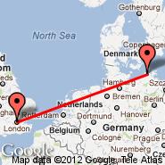 London (Metropolitan Area, LON) - Stralsund-Barth (Barth, BBH)