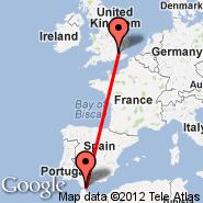 Londra (Metropolitan Area, LON) - Gibraltar (North Front, GIB)