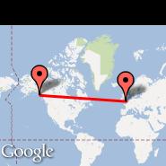 London (Metropolitan Area, LON) - Sitka (Sitka Rocky Gutierrez Airport, SIT)