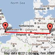 London (Metropolitan Area, LON) - Schleswig-jagel (AB, WBG)