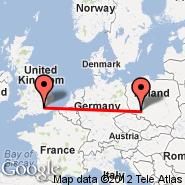 London (Metropolitan Area, LON) - Wroclaw (Copernicus Airport, WRO)