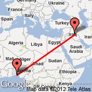Lagos (Murtala Muhammed, LOS) - Bagdad (Baghdad International, SDA)