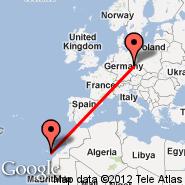 Gran Canaria (Gran Canaria International (Gando Airport), LPA) - Dresden (Dresden Arpt, DRS)