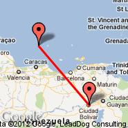 Los Roques (LRV) - Ciudad Bolivar (Tom, CBL)