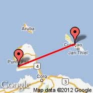 Las Piedras (Josefa Camejo, LSP) - Curacao (Hato International Airport, CUR)