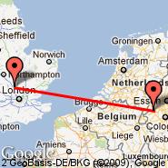 Luton (London Luton, LTN) - Rheindahlen (GMY)