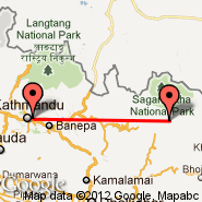 Lukla (Tenzing-Hillary, LUA) - Kathmandu (Tribhuvan, KTM)