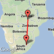 Lusaka (Lusaka International Airport, LUN) - Maseru (Moshoeshoe Intl, MSU)
