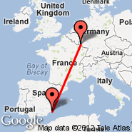 Luksemburg (Findel, LUX) - Murcia (San Javier, MJV)
