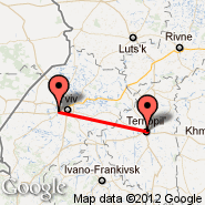 Lviv (Snilow, LWO) - Ternopil (Ternopol, TNL)