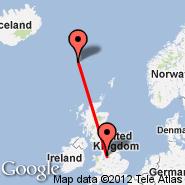 Manchester (Ringway International Airport, MAN) - Faroe Islands (Vagar, FAE)