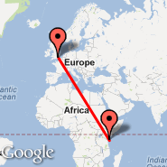 Mombasa (Moi International, MBA) - London (Metropolitan Area, LON)