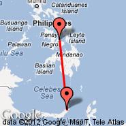 Manado (Samratulangi, MDC) - Cebu (Mactan-Cebu International, CEB)