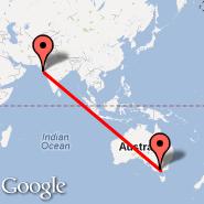 Melbourne (Tullamarine, MEL) - Keshod (IXK)