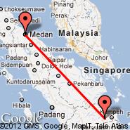 Medan (Polonia, MES) - Jambi (Sultan Taha Syarifudn, DJB)